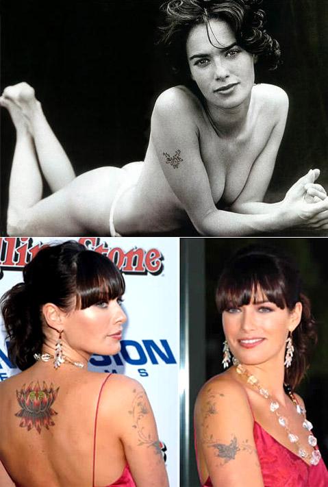 Lena Headeys Butterfly Tattoos Body Art Diary