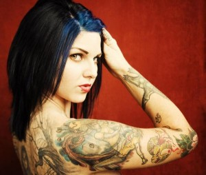 Tattoos-Girl