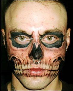 skull-face-tattoo