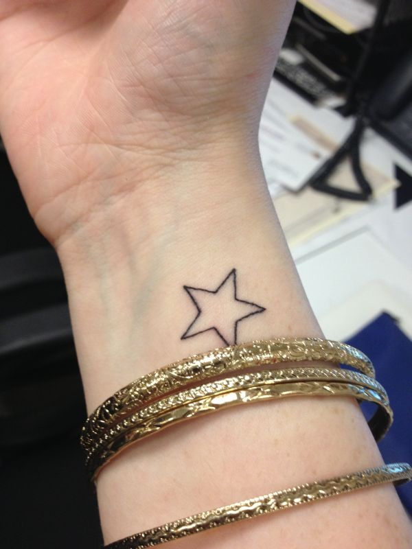 Stars tattoo