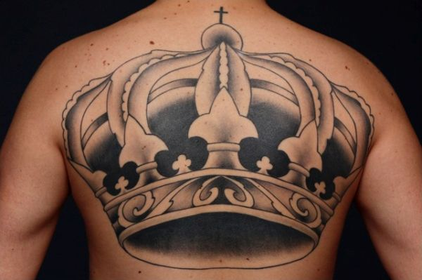 Five-Point Crown tattoo