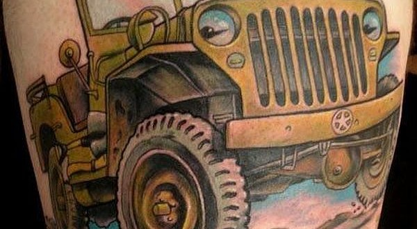 Jeep car tattoos