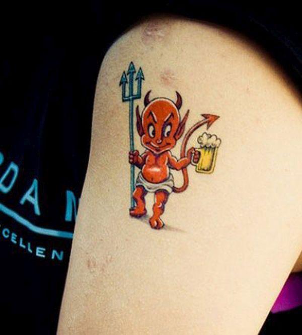 Devil as cupid