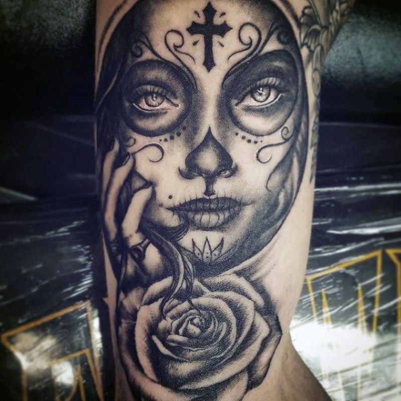 dead eyes tattoo