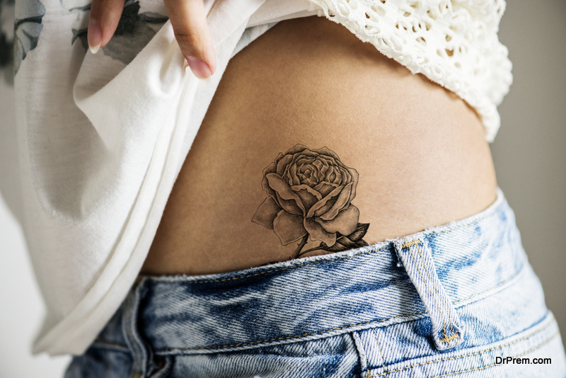 Classic flower tattoos
